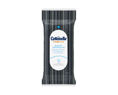 Image of product Cottonelle - Flushable Cleansing Cloths Travel pack, 10 units