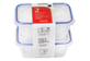 Thumbnail of product Home Exclusives - Reusable Food Storage Containers with Lids, 250 ml, 2 units