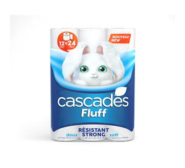 Image of product Cascades - Fluff Strong Toilet paper, 12 units