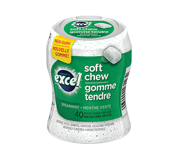 Soft chew, 40 units, Peppermint