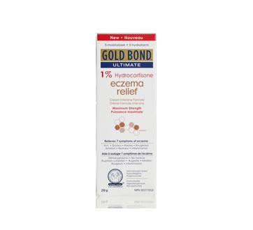 Ultimate Eczema Relief 1% Hydrocortisone Cream, 28 g