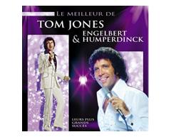 Image of product Les Disques Création - Best Of Tom Jones & Engelbert Humperdinck, 1 unit