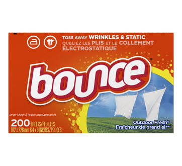 Fabric Softener Dryer Sheets, 200 units, Outdoor Fresh