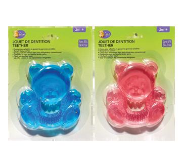 Teether, bear, 1 unit