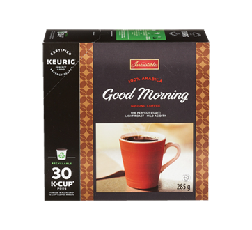 Good Morning K-Cup Coffee Pods, 285 g