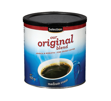 Image of product Selection - Medium Roast Original Blend Ground Coffee, 925 g