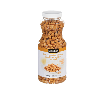 Image of product Selection - Honey Roasted Peanuts, 700 g