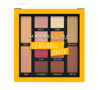 Lemonade Craze Eyeshadow Palette, 9.6 g