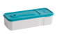 Thumbnail 2 of product Trudeau - Snack Dip Container, 1 unit, Blue