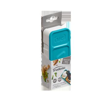 Snack Dip Container, 1 unit, Blue
