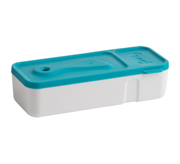Image 2 of product Trudeau - Snack Dip Container, 1 unit, Blue