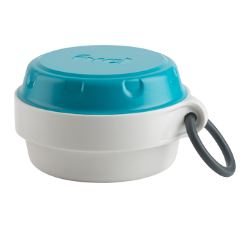 Image 2 of product Trudeau - Dry Snack Container, 240 ml, Blue