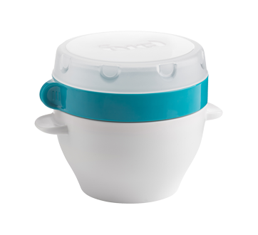Image 2 of product Trudeau - Lunch Bowl for Dry Food Compartment, 470 ml, Blue