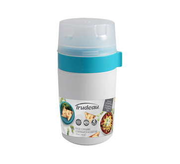 Food Container with Dry Food Compartment, 350 ml
