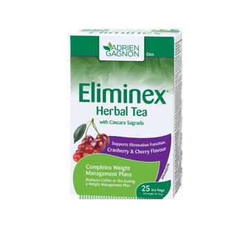 Image of product Adrien Gagnon - Eliminex Tea Cranberry & Cherry, 25 units