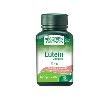Image of product Adrien Gagnon - Lutein 10 mg, 60 units