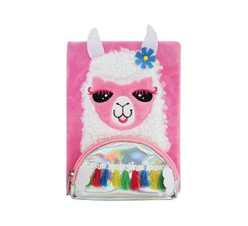 Llama Notebook with Front Pocket, 1 unit