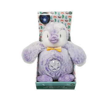 Purple Penguin Light Up Musical Plush, 1 unit