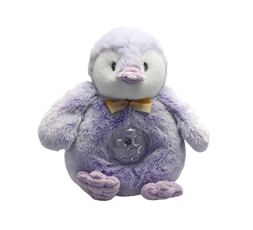 Image 2 of product Danawares - Purple Penguin Light Up Musical Plush, 1 unit