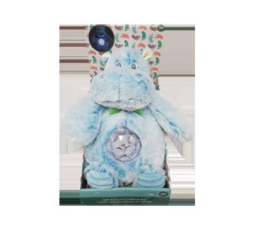 Blue Hippo Light Up Musical Plush, 1 unit