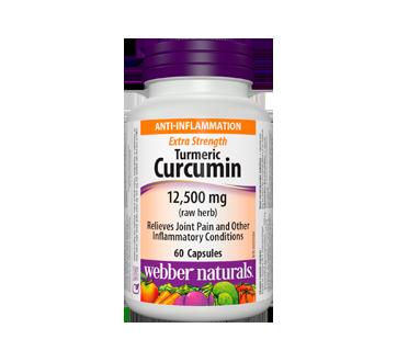 Image of product Webber Naturals - Turmeric Curcumin Extra Strength 12,500 mg, 60 units
