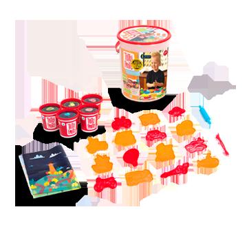 Image 2 of product Tutti Frutti - Neon Modeling Dough Transport Bucket, 1 unit