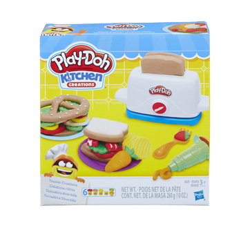 Kitchen Creations Toaster Creations Modeling Compound Set 1 Unit