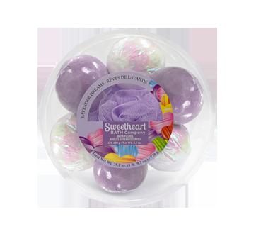 Bath Bomb Set, 7 units, Lavender Dreams