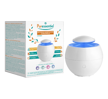 Image of product Puressentiel - O'xygen Ultrasonic Diffuser Humidifier, 1 unit