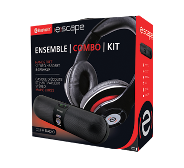 Bluetooth Speaker & Headphone, 1 unit