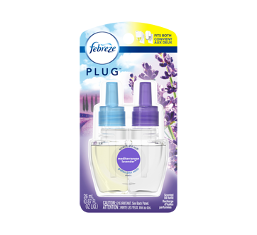 Image of product Febreze - Plug Air Freshener Scented Oil Refill, 26 ml, Mediterraenan Lavender