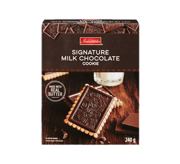 All Butter Biscuits Topped with Milk Chocolate, 240 g
