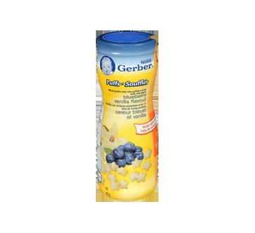 Gerber Puffs, 42 g, Blueberry & Vanilla