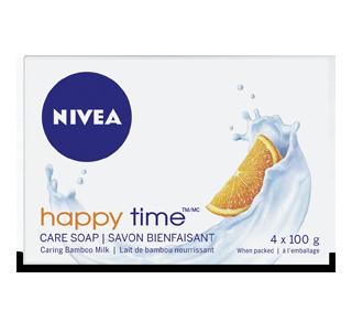 Happy Time Creme Soap, 4 x 100 g – Nivea : Soap