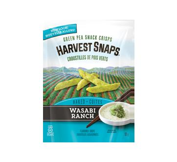 Snapea Crisps Green Pea Snack Crisps, 93 g, Wasabi Ranch