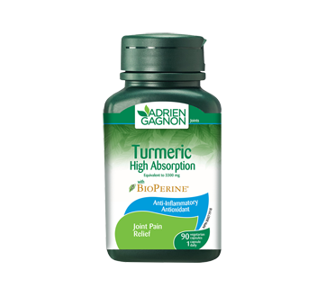 Image 2 of product Adrien Gagnon - Turmeric High Absorption, 90 units