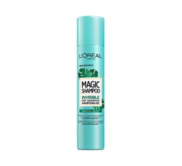 Magic Shampoo Invisible Dry Shampoo, 200 ml, Vegetal Boost