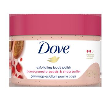 Exfoliating Body Polish, 298 g,  Pomegranate & Shea Butter