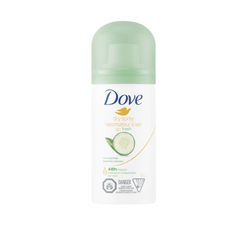 Image of product Dove - Go Fresh Dry Spray Antiperspirant, 1 unit, Cool Essentials