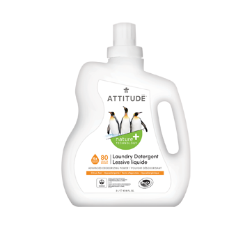Laundry Detergent, 2 L, Citrus Zest