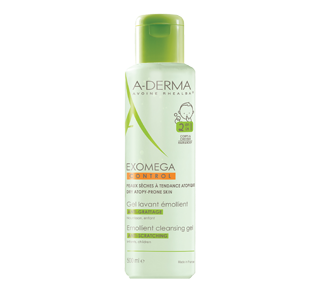 Exomega Control 2 in 1 Anti-Scratching Emollient Cleansing Gel, 500 ml