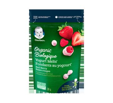 Organic Yogourt Melts From 12 Months +, 28 g