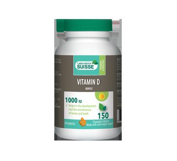 Image of product Laboratoire Suisse - Vitamin D Maple 1000 IU, 150 units