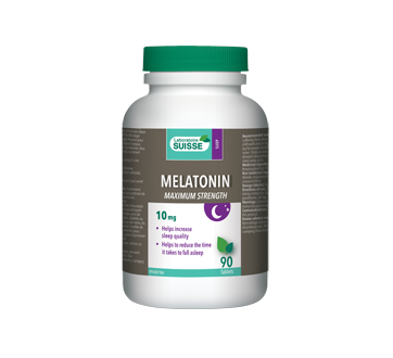 Image of product Laboratoire Suisse - Melatonin – 10 mg Extra-Strength, 90 units