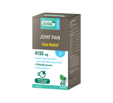 Image of product Laboratoire Suisse - Joint Pain Fast Relief, 60 units
