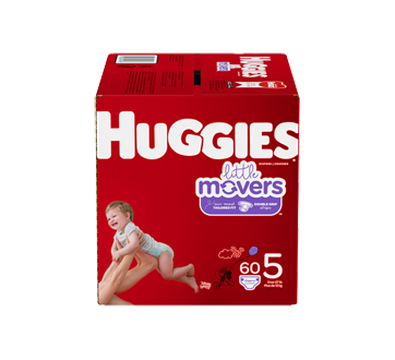 Little Movers Diapers Size 5, 60 units