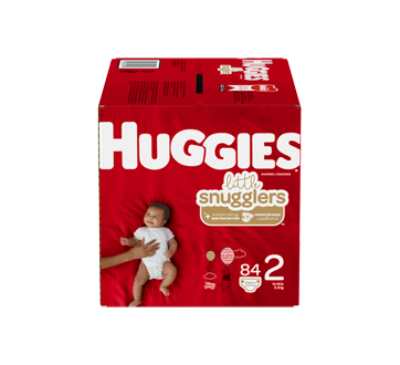 Little Snugglers Baby Diapers Size 2, 84 units