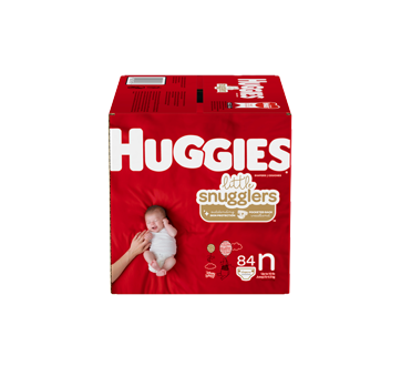 Little Snugglers Baby Diapers Size Newborn, 84 units