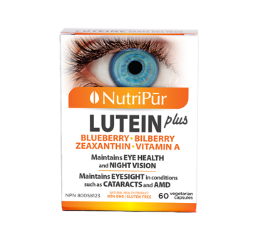 Image of product Nutripur - Lutein Plus, 60 units