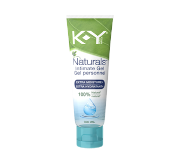 Image of product K-Y - Personal Lubricant, Naturals<sup>&reg;</sup> Moisture+  Gel, 100 ml